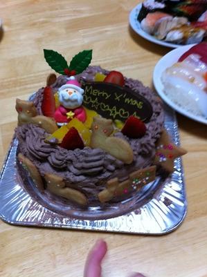 X'masケーキ.JPGのサムネール画像のサムネール画像